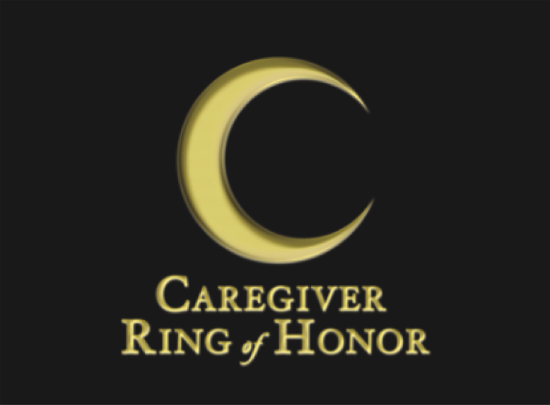 gold c caregiver ring of honor